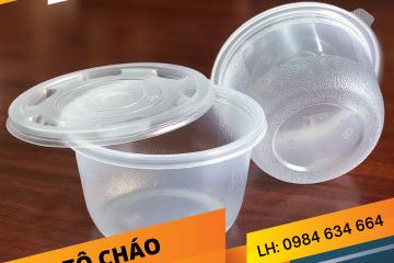 Tô Nhựa Đựng Cháo