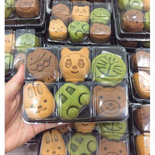 Hộp Nhựa Trong Suốt Đựng Bánh Trung Thu